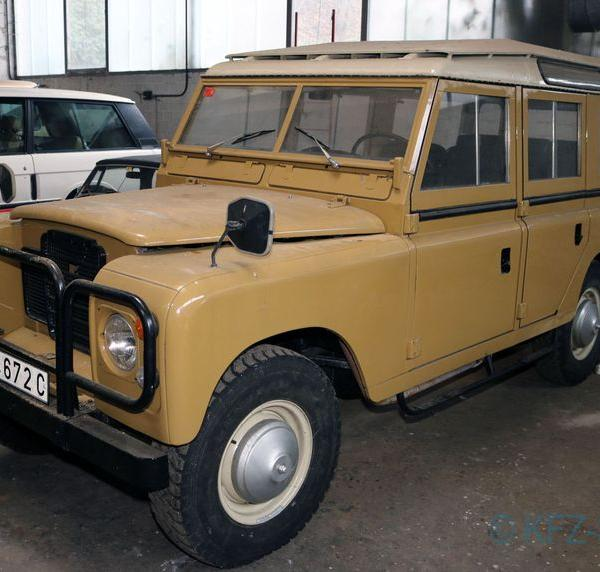 Land-Rover Serie III 109D